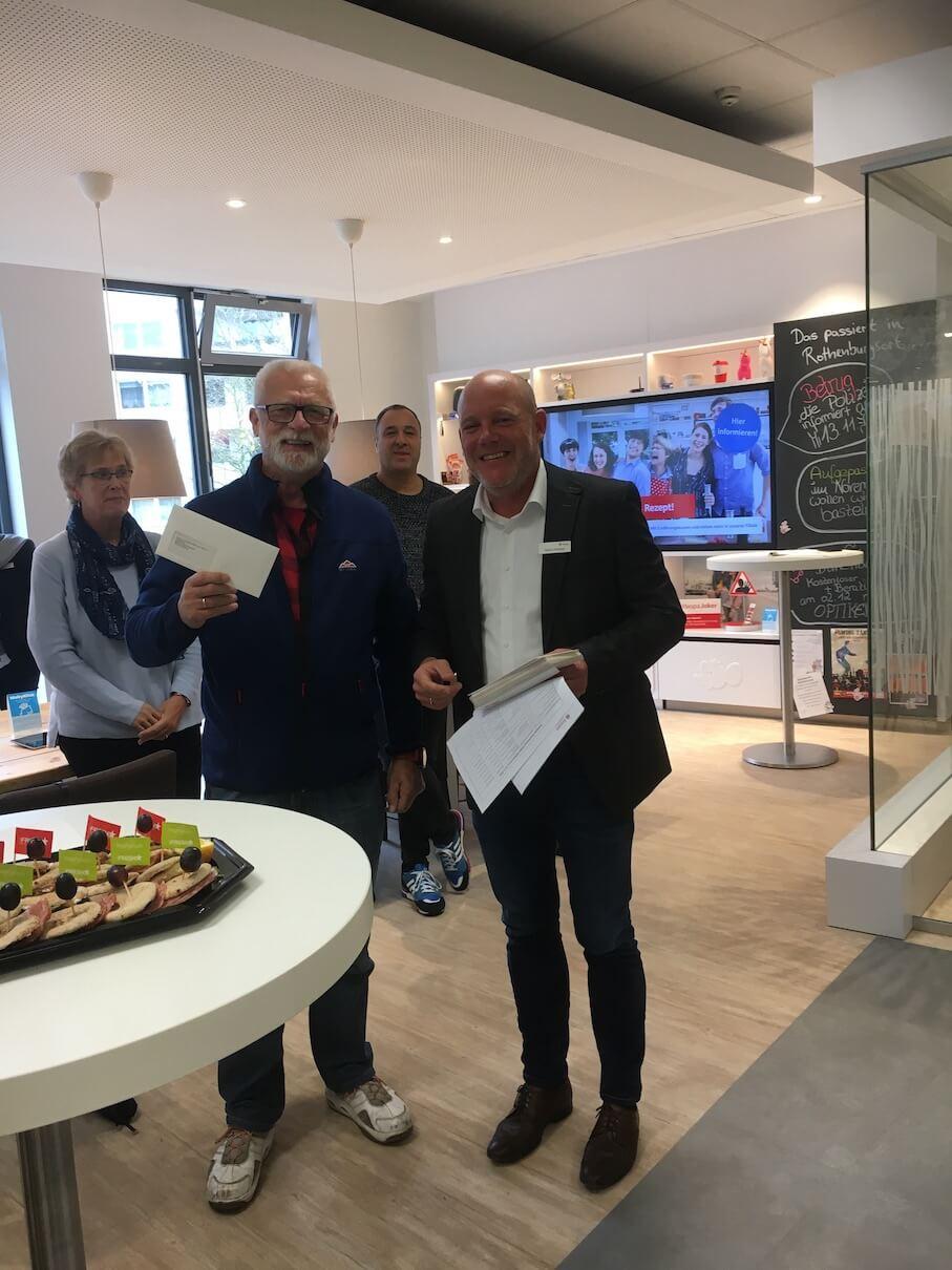 Uebergabe Zuwendung Haspa LotterieSparen 2019